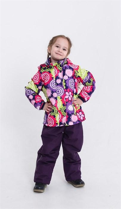 Комплект Цветы фиолетовые - фото 4733